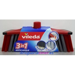 VILEDA Escoba 3en1 Antichoque Style