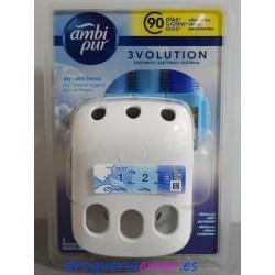 AMBI PUR 3VOLUTION Aparato eléctrico + Recambio Aroma Aire fresco