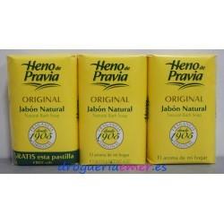 HENO DE PRAVIA Jabón natural 3 Pastillas X 115grs