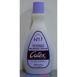CUTEX Quitaesmalte Sin Acetona 100ml