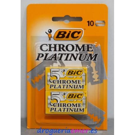 BIC Hojas Platinum 10 unidades