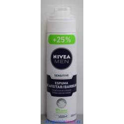 NIVEA Men Espuma Piel Sensible 250ml